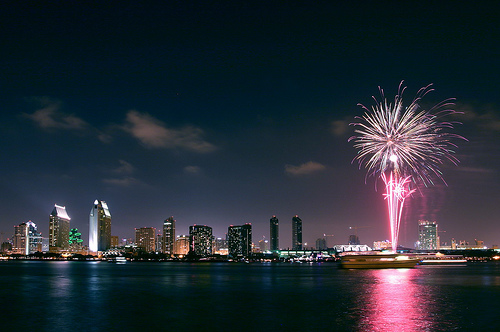 San Diego July 4th Fireworks 3