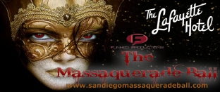 San Diego Massaquerade Ball at the Lafayette Hotel