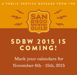 2015 San Diego Beer Week