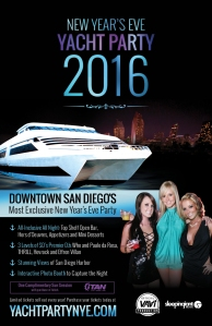 2016 San Diego New Year's Eve Yacht Party
